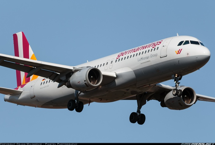Germanwings A320 Alps