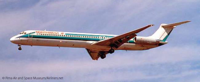 Northwest DC9 accidented