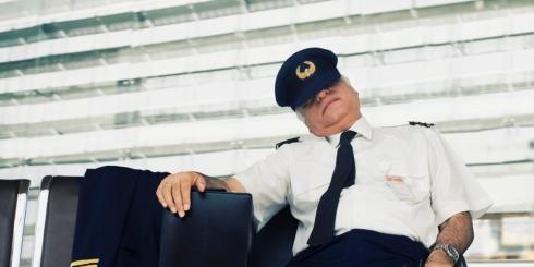 pilotsleeping